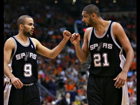 Tony Parker and Tim Duncan Try to Carry the Spurs on Their Backs to Win- NBA 2K13 MY CAREER