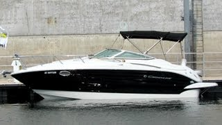 2012 Crownline 260CR Motor Boat - Exterior Interior - 2012 Montreal In-Water Boat Show