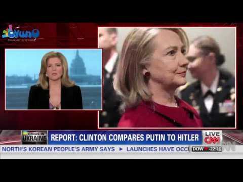 Clinton reportedly compares Putin to Hitler