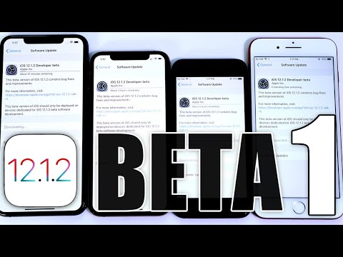iOS 12.1.2 BETA 1 What's New & Weird things Happening on iOS 12.1.1