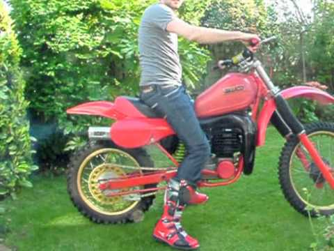 Maico 490, 1982 2 stroke Motocross, first time start in 15 years