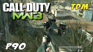 Modern Warfare 3 (PC) - TDM no mapa mission: Jogando com a P90