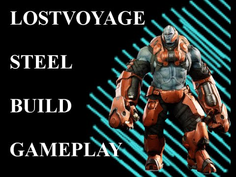 PARAGON - BEST STEEL BUILD/GAMEPLAY - 12 Minute Game - BASE RUSH