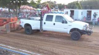Ford Powerstroke Pulling 7.3