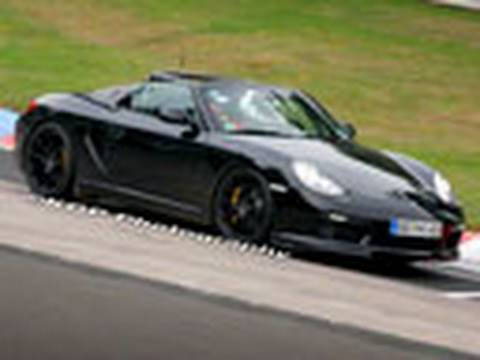 New Porsche Spied: 2011 Porsche Boxster Turbo Spy Video by Inside Line Video