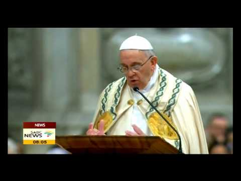 Pope Francis: Did you help others in 2013?