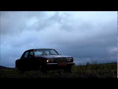 It's lonely at the top: Mercedes-Benz W123 240D. das beste oder nichts.