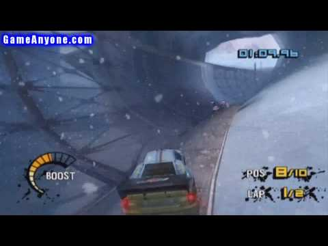 Motorstorm: Arctic Edge - PS2 - 52 - Shift N' Drift Race 1 out of 3 Video