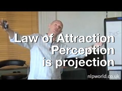 Perception is Projection - The Law of Attraction
