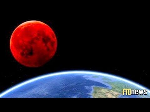 Moon Turns Into Blood (April 15, 2014) - Tetrad Eclipse