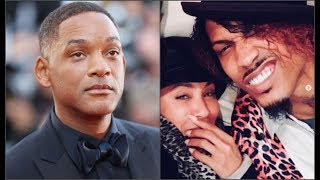 Will Smith's Wife Jada Got EXP0SED For SecretIy Dating August Alsina