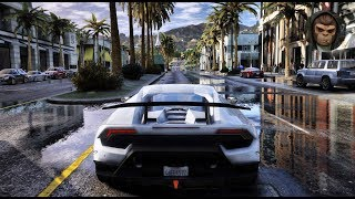 ► GTA 6 Graphics - Huracan Performante! ✪ M.V.G.A. - Gameplay! Realistic Graphics MOD 60FPS