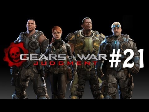 MY BEACH PROPERTY - Gears of War: Judgment - Hardcore Campaign Walkthrough / Gameplay Part 21