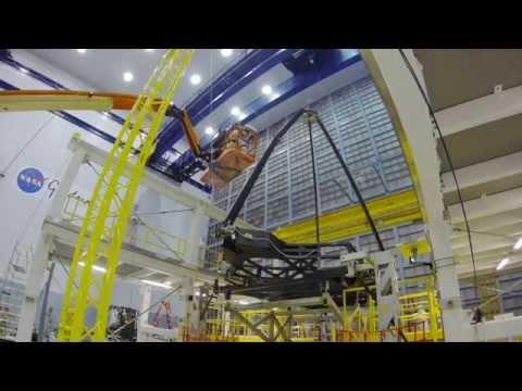 Time-lapse: James Webb Space Telescope Secondary Mirror Deployment Test