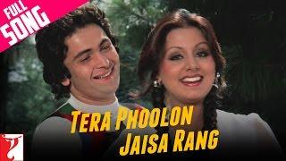 Tera Phoolon Jaisa Rang Video Song from Kabhi Kabhie