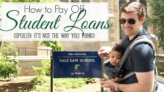 How to Pay Off Student Loan Debt | Our Plan to Tackle $420K in Loans
