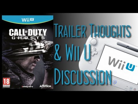 CoD Ghosts - Wii U & Trailer Discussion (Call Of Duty: Black Ops 2 Gameplay)