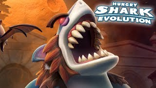 THE NEW WERESHARK!!! - Hungry Shark Evolution