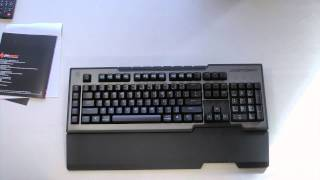 CMStorm Trigger Gaming Keyboard Unboxing and Overview
