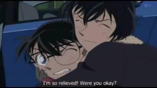 Detective Conan Fighting moments Masumi sera