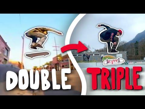 Developing Rodney Mullens Tricks #1