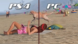 Grand Theft Auto V | GTA 5: PS4 vs PC Ultra сравнение графики ► GTA 5 Gameplay