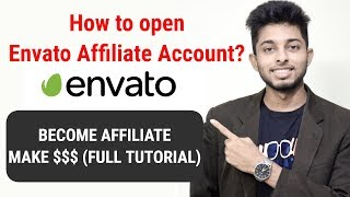 How to create envato or themeforest affiliate account? Affiliate Marketing | Freelancer Nasim