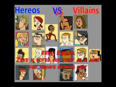 Total Drama Season 5 Heroes vs Villains Total Drama Season 5-my