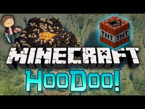 Minecraft: ATTACK! HooDoo PVP Mini-Game w/Mitch & Friends!