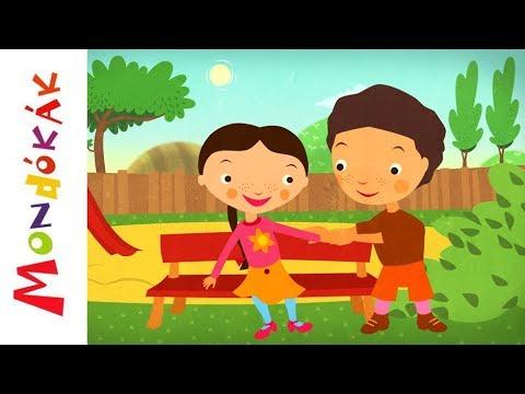 Lóg a lába  Gyerekdalok és mondókák, rajzfilm gyerekeknek