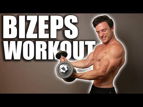 Schnellster Muskelaufbau für den Bizeps   Workout im Hypertrophiebereich