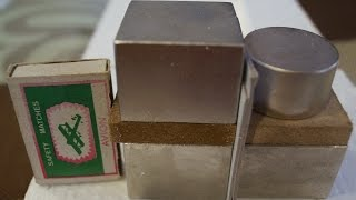 Neodymium SuperMagnets. 110 kg. attractive force