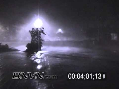 10/24/2005 Footage of Hurricane Wilma hitting Marco Island during the overnight