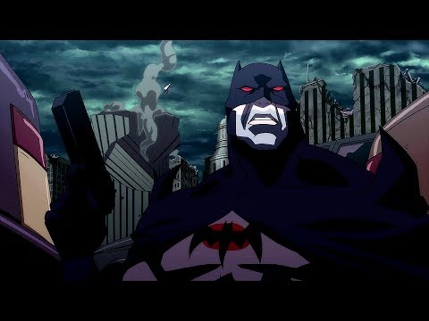 Batman vs Black Manta | Justice League: The Flashpoint Paradox
