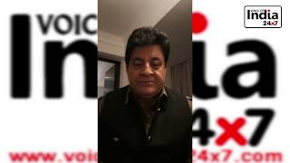 Best Wishes For News Web News Channel Voice of India 24X7 Bollywood Actor Gajendra Chauhan