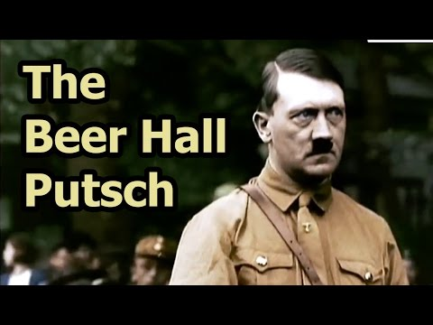 On This Day - 8 November 1923 - The Beer Hall Putsch