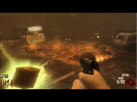 TOWN Solo Survival LIVE Commentary Black Ops II Zombies - ELECTRIC BRASS KNUCKLES ACTIVATE!