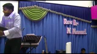 Tamil Sermon - In the Midst of Storm - Elshaddai Mission Church