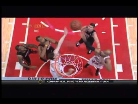 Taj Gibson putback dunk--Chicago Bulls vs. Miami Heat - Game 1