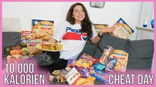 10.000 KALORIEN CHALLENGE | EPIC CHEAT DAY | GIRL VS FOOD