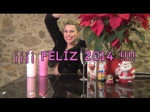 María Lapiedra da las campanadas del 2013 ¡FELIZ 2014!