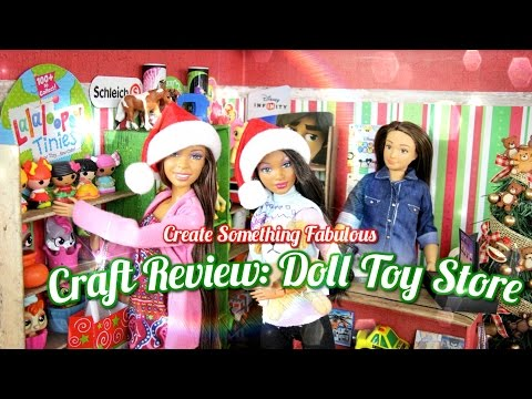 Create Something Fabulous: Craft Review Doll Toy Store - Doll Crafts