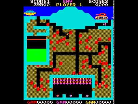 Arcade Game: The Pit (1982 Zilec Electronics)