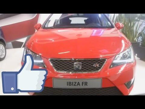 Nuevo SEAT Ibiza FR 2013 Precio Caracteristicas Salón Automóvil FULL HD