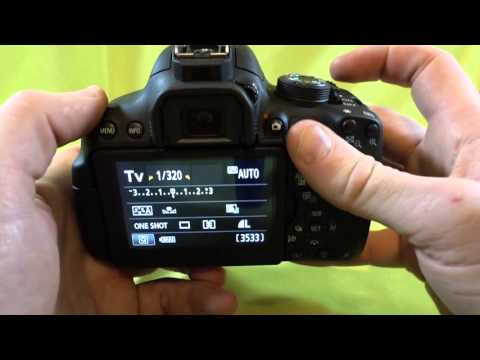 How to change the shutter speed on your Canon T5i