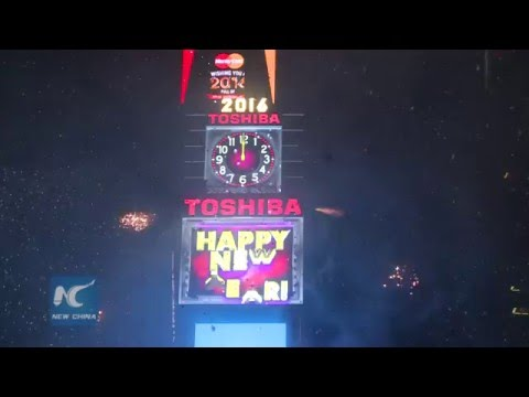 2016 New Year's Eve countdown at Times Square, New York streaming vf