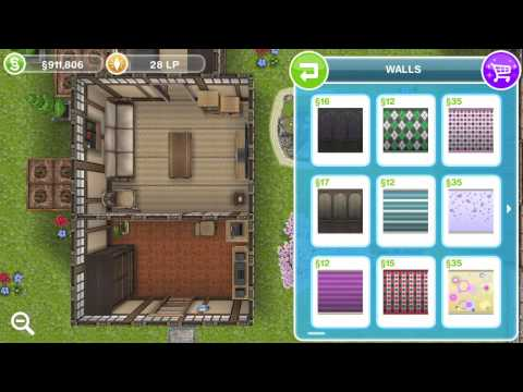 Sims FreePlay- Japanese Retreat Layout