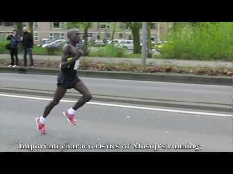 Moses Mosop (Kenya) Running technique