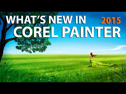 Corel Painter 2015 New Features