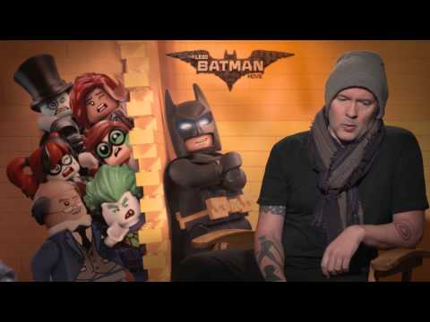 Backstage With Chris McKay For THE LEGO BATMAN MOVIE